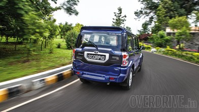 The new gen Scorpio in Regal Blue!
